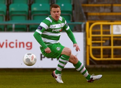 Danny North was on target for Shamrock Rovers.