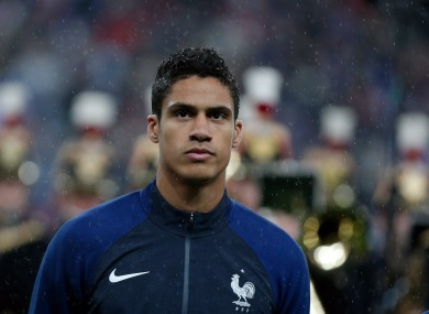 France's Raphael Varane has been ruled out of Euro 2016.