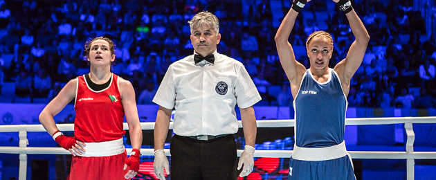 Taylor: beaten at the world champs for the first time since 2005.