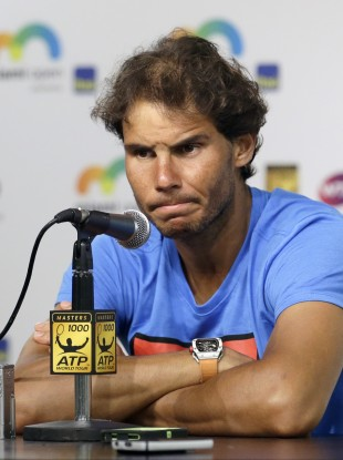 Rafa Nadal has strongly denied doping accusations.