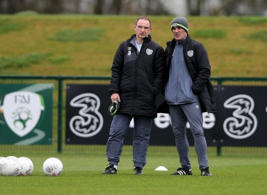 O'Neill and Keane (file pic).