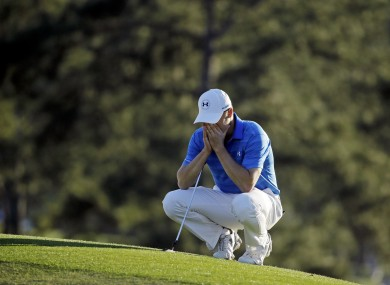 Spieth: back-nine nightmare ruined his Masters chances.