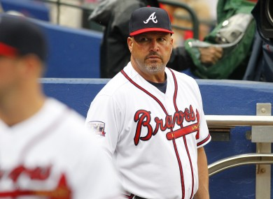 Gonzalez: fired after Monday night's loss in Pittsburgh.