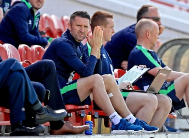 Keane sat out today's session.