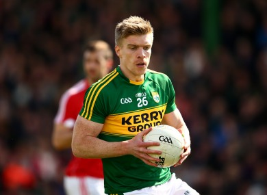 Tommy Walsh recently left the Kerry football squad.