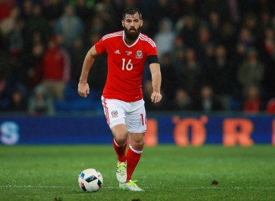Joe Ledley has returned from injury quicker than expected.