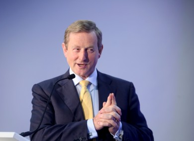 Taoiseach Enda Kenny has been active in campaigning for the Vote Remain side