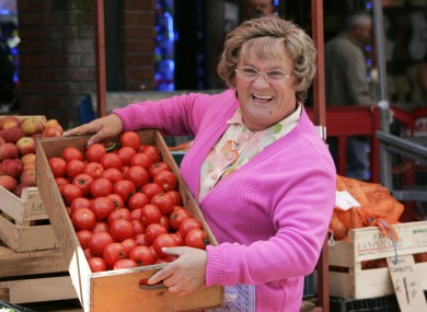 Brendan O'Carroll as Agnes Browne on set during filming for Mrs Brown's Boys D'Movie.