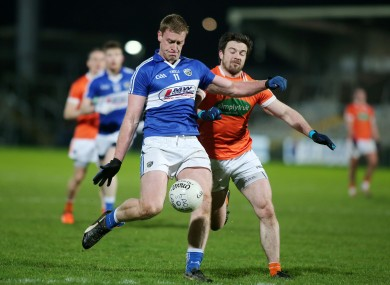Laois player Donie Kingston and Armagh's Aidan Forker will be in opposition in the qualifiers.