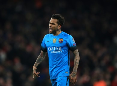 It looks like Dani Alves is heading to Italy.