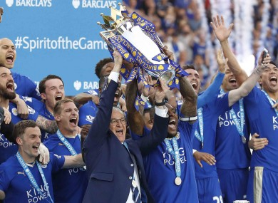 Leicester's success this season seemed to defy logic.