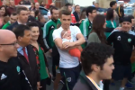 Watch: Thousands line the streets as Seamus Coleman paraded through Killybegs