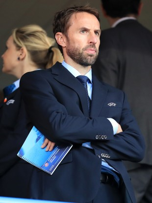 Southgate: the bookies' choice to succeed Hodgson.