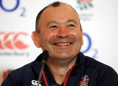 Eddie Jones is putting his friendship with Michael Cheika on hold.