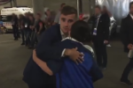 Antoine Griezmann gave Ireland match ball to the son of murdered police officer