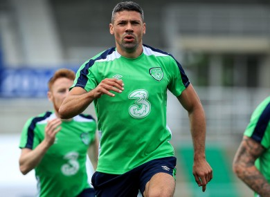 Walters took full part in today's session.