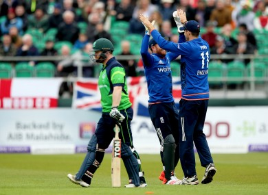Ireland last played England in May 2015.