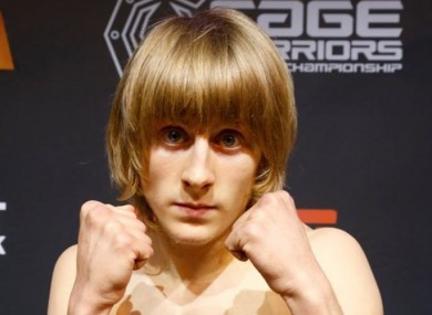 Paddy Pimblett weighing in for Cage Warriors 75.