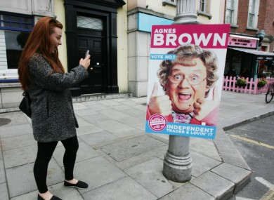 Sadly, Mrs Brown never made it the Dáil.