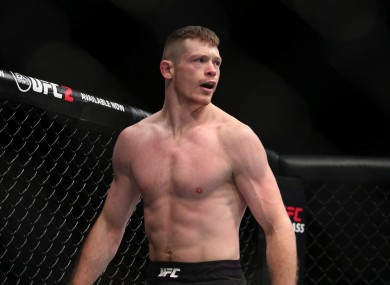Joseph Duffy meant business at UFC Fight Night 90.