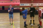 Jason Byrne recreated his famous referee scenes from Father Ted