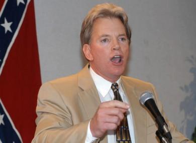 Former leader of the KKK David Duke pictured in 2004