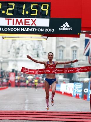Shobukhova: 38-year-old is banned for life from London Marathon.