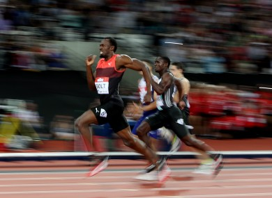 Bolt: won comfortably in 19.89.