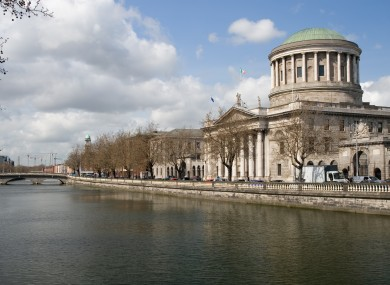 The Four Courts in Dublin, where the Circuit Civil Court is based