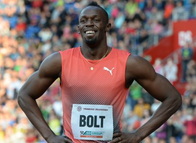 Six-time Olympic champion Usain Bolt