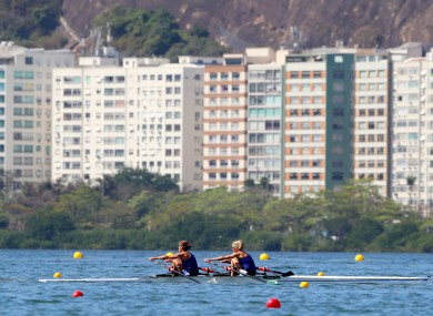 Lambe and Lynch will row in the final tomorrow.