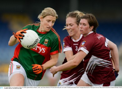 Cora Staunton and her Mayo teammates are through to the All-Ireland semi-final.