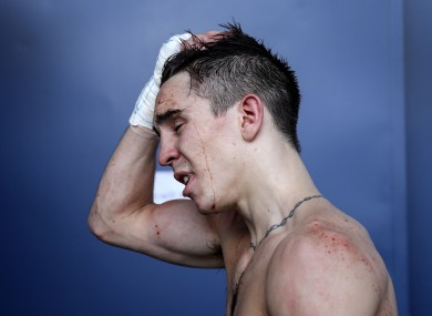 Ireland's Michael Conlan following his defeat to Vladimir Nikitin of Russia.