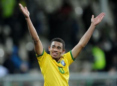 Jesus has represented Brazil at U20 and U23 level.