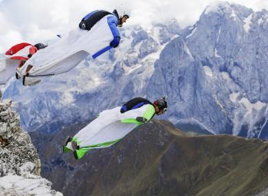 File photo of base jumping