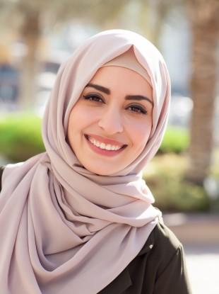 File photo of a woman wearing a hijab