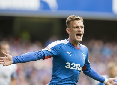 Shiels spent four years at Rangers.