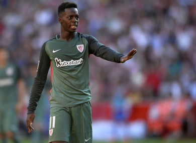 Inaki Williams is a full Spanish international.