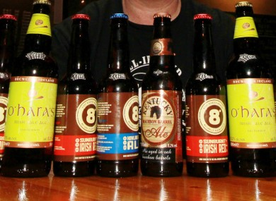 Irish craft beer