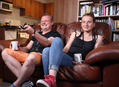 Szymon and Aga, originally from Poland but living in Tallaght, have been best friends since they met in college 16 years ago.