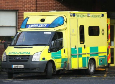 File photo of an ambulance