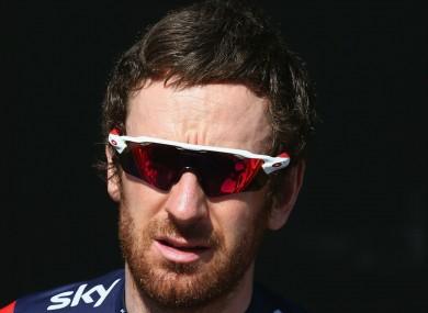 British cyclist Bradley Wiggins