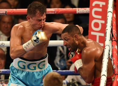 Gennady Golovkin and Kell Brook.