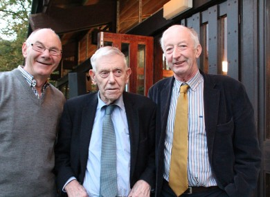 Mick Burke, centre, has been attending the Lisdoonvarna matchmaking festival for 70 years - and started out with