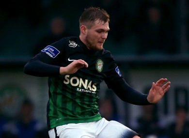 Ger Pender of Bray Wanderers (file pic).