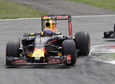 Red Bull driver Max Verstappen (file pic).