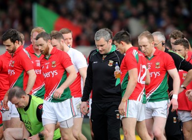 James Horan guided Mayo to four consecutive Connacht senior football titles.