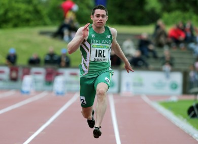 Jason Smyth should have no trouble in his heat.