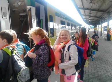 Kilsheelan Scout Group was one of the local organisations to win a trip with Irish Rail in 2015.