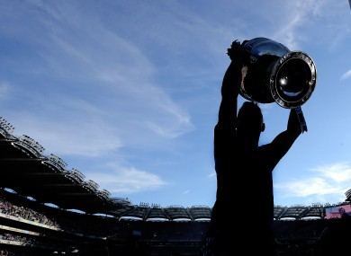 Who will be lifting Sam Maguire this afternoon?